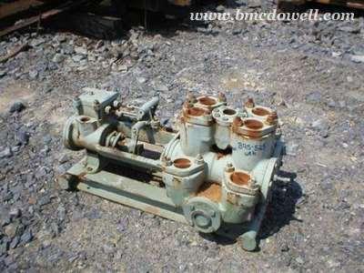 Gardner Denver 2 Piston Grout Steam Pump - 5-1/4 X 3-1/2 X 5