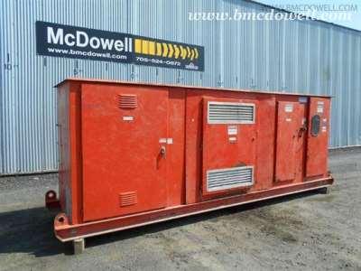Synergy Engineering Ltd. Low Profile Skid Mounted Substation