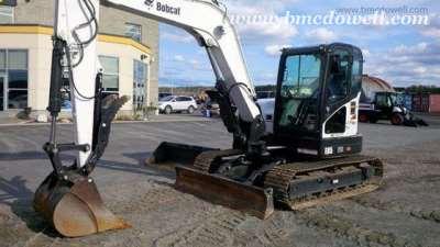Bobcat Excavator - E85