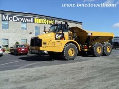 Caterpillar Articulated Rock Truck - 735B