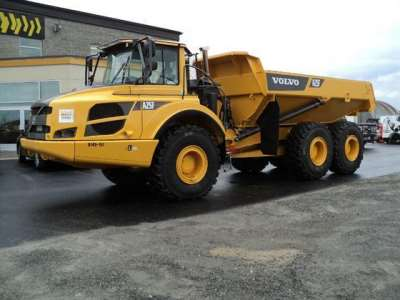 Volvo Articulated Rock Truck - A25F