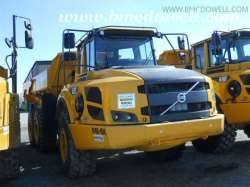Volvo Articulated Rock Truck - A25F