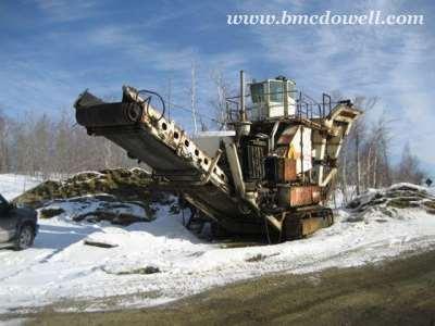 Nordberg Mobile Crusher - Lokotrack 125
