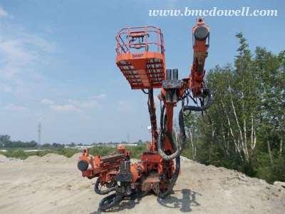Boart LongYear Underground Stratamaster Jumbo Drill - R512