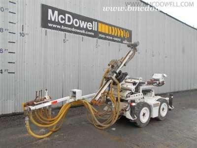 CMAC Underground Longhole Jumbo Drill - PLH-2013-146