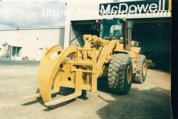 Log Forks - Caterpillar 966F II Wheel Loader