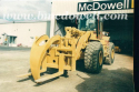 Log Forks - Caterpillar 966F II Wheel Loader