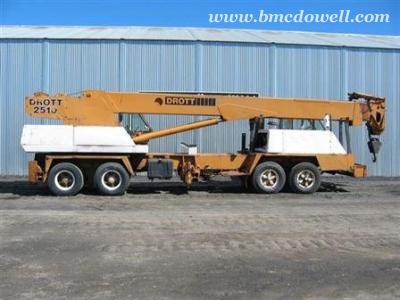Drott Mobile Crane