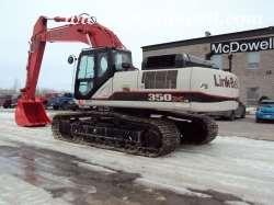 Link Belt 350X3 Excavator