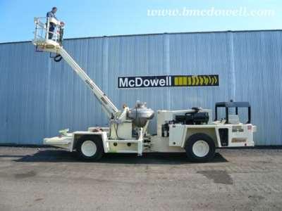 Getman Anfo Scissor Lift Truck - A64