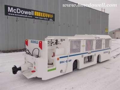 Brookville 20 Ton Locomotive - BDC-20UP