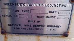 Greensburg 4 Ton Locomotive